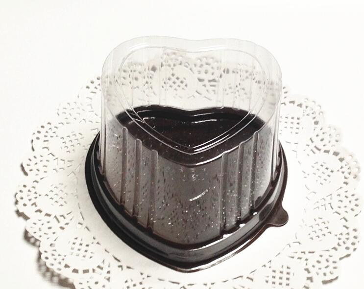 100PCS heart shaped wedding cake boxes Simple Clear PVC Cupcake Boxes Plastic Cake Box window cake boxes-in Disposable Tableware Sets from Home u0026 Garden on ... & 100PCS heart shaped wedding cake boxes Simple Clear PVC Cupcake ... Aboutintivar.Com
