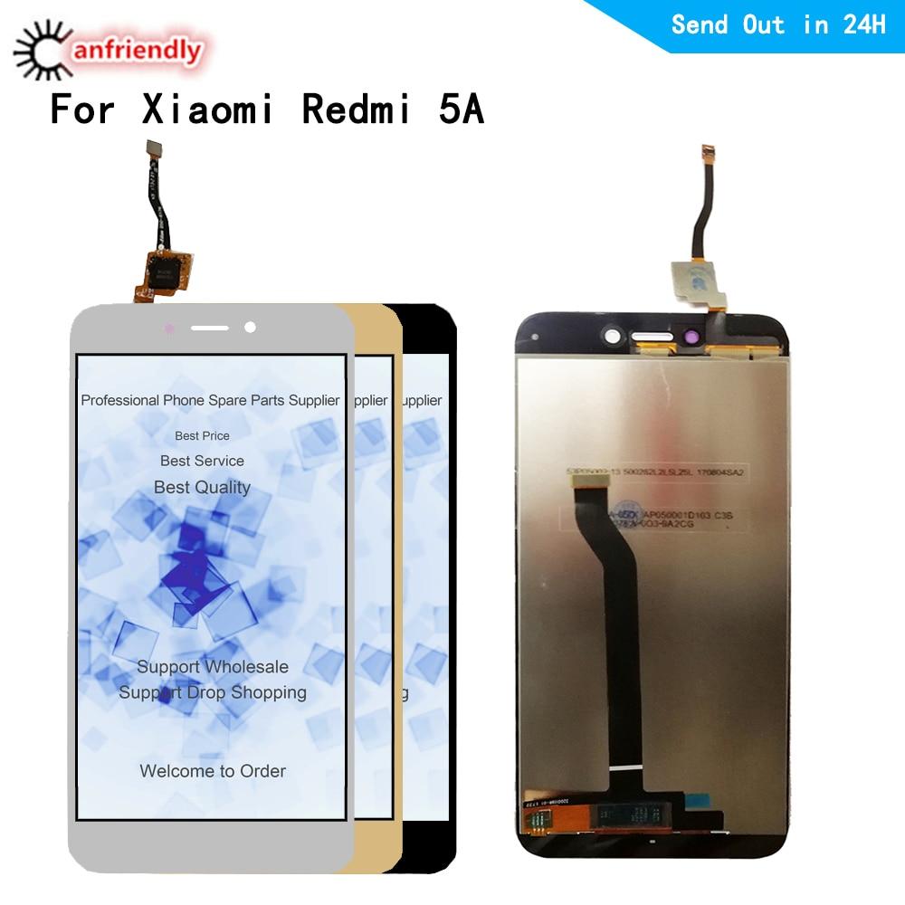 5 pcs/lot pour Xiaomi Redmi 5A 5 A écran LCD + écran tactile remplacement numériseur avec assemblage de cadre pour Xiaomi Redmi 5A-in Écrans LCD téléphone portable from Téléphones portables et télécommunications on AliExpress - 11.11_Double 11_Singles' Day 1