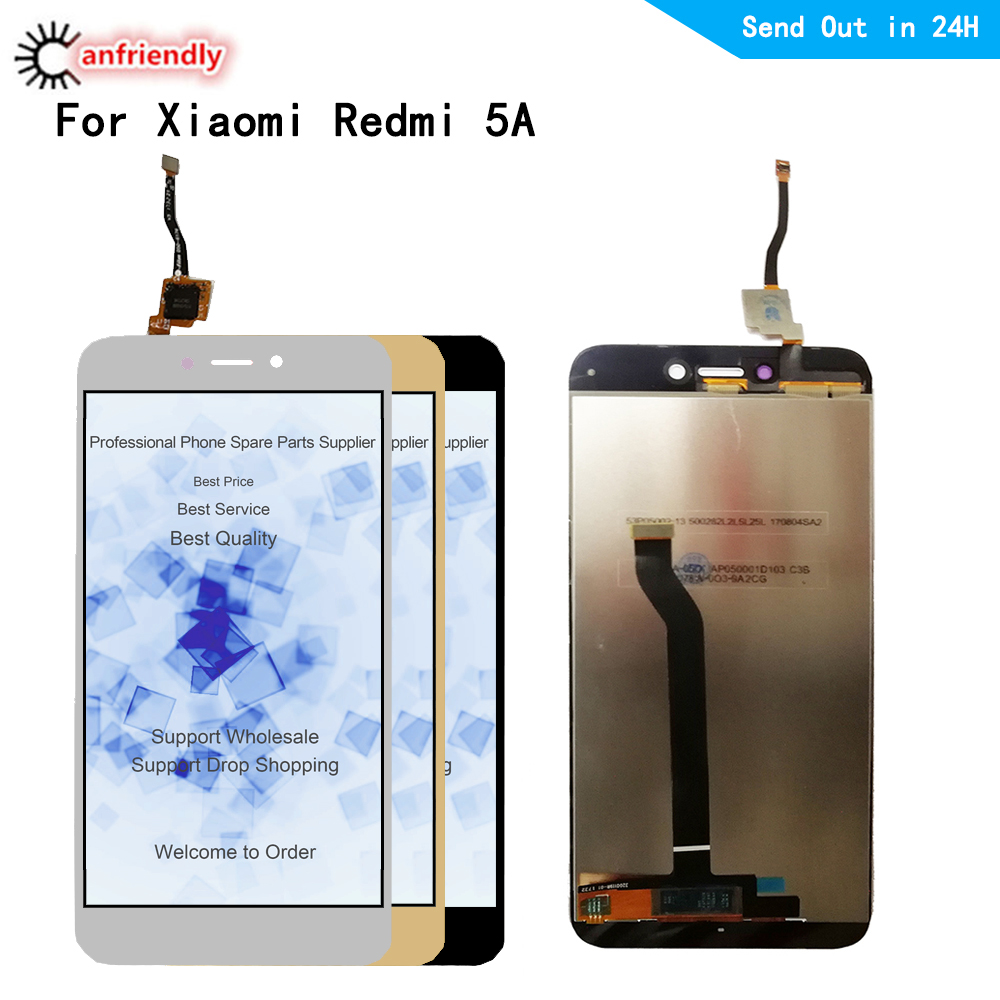 5pcs/lot For Xiaomi Redmi 5A 5 A LCD Display+Touch panel Screen Replacement Digitizer with frame Assembly For Xiaomi Redmi 5A-in Mobile Phone LCD Screens from Cellphones & Telecommunications    1