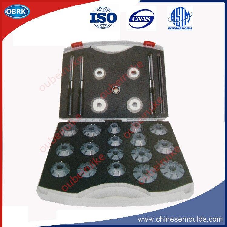 Dia.40-54mm exportation qualité soupape siège alésoir fraises mise à niveau ensemble pour fret voiture moteur réparation outils 26 pièce/ensemble