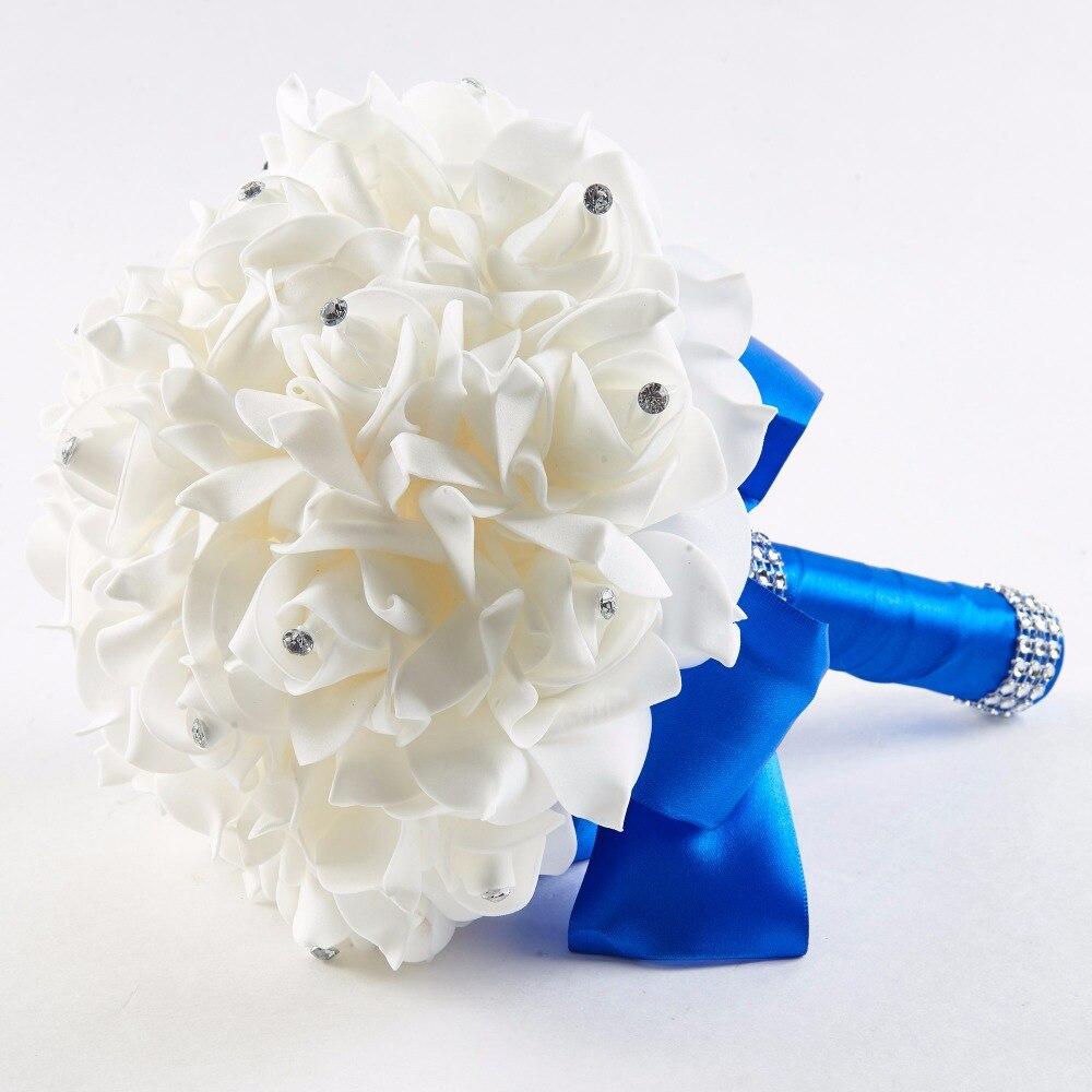 Dressv Best Beaded Rose Wedding Bouquet Flowers More Colors For Wedding Bridal Bouquets