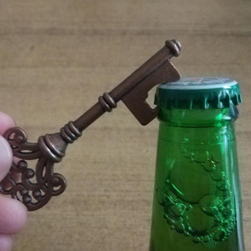 Portable Random Color Silicone Beer Bottle Opener Vintage Bar Kitchen Tools New