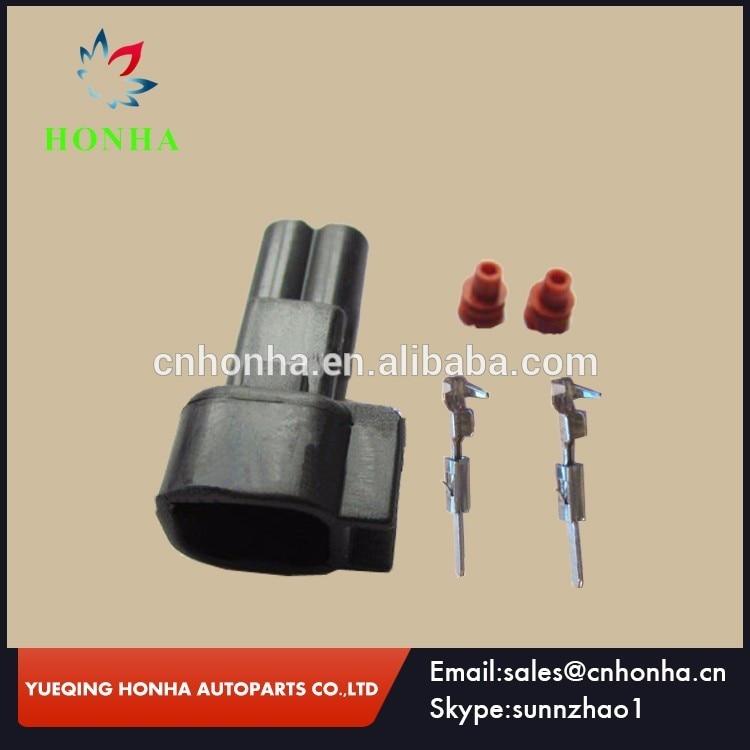 Free shipping DJ7023C 1 5 11 50 sets EV6 to EV1 auto 2 pins waterproof male