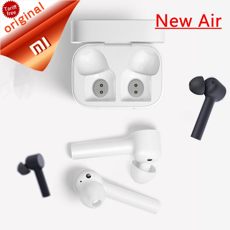 Original Xiaomi Air TWS Airdots Pro Earphone Bluetooth Headset Stereo ANC Switch ENC Auto Pause Tap Control Wireless Earbuds(China)
