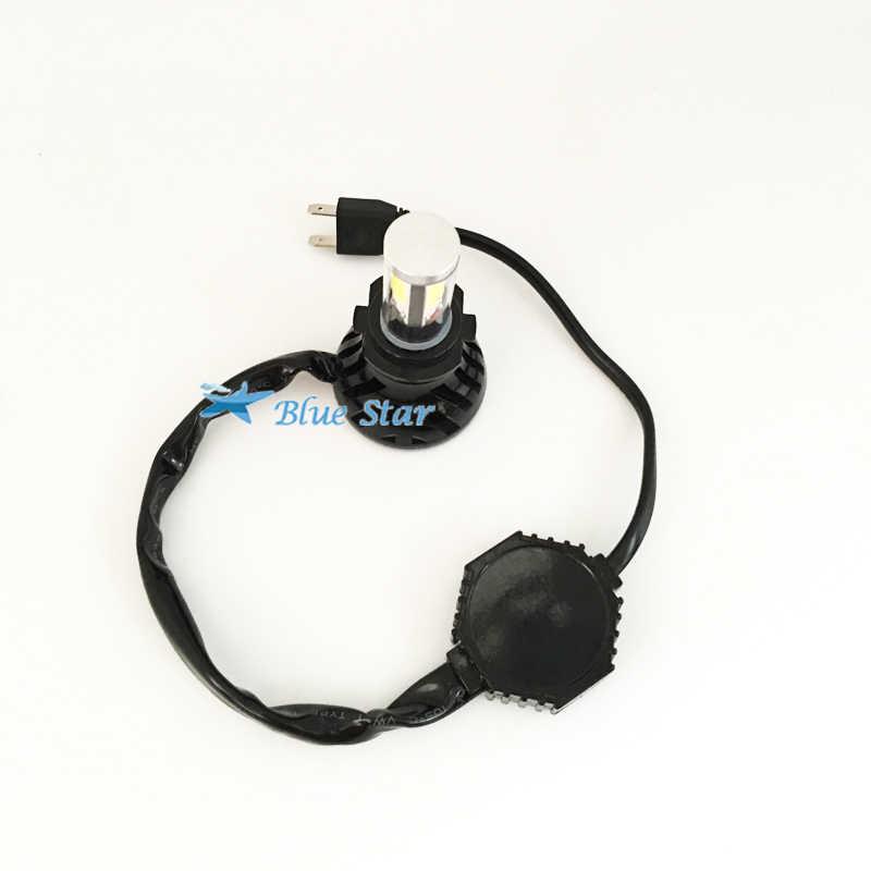 All-in-One Car Headlights H7 H8/H9/H11 HB3/9005/H10 HB4/9006 Auto Front Bulb 80W 8000lm Automobiles Headlamp with Fan Plug&Play