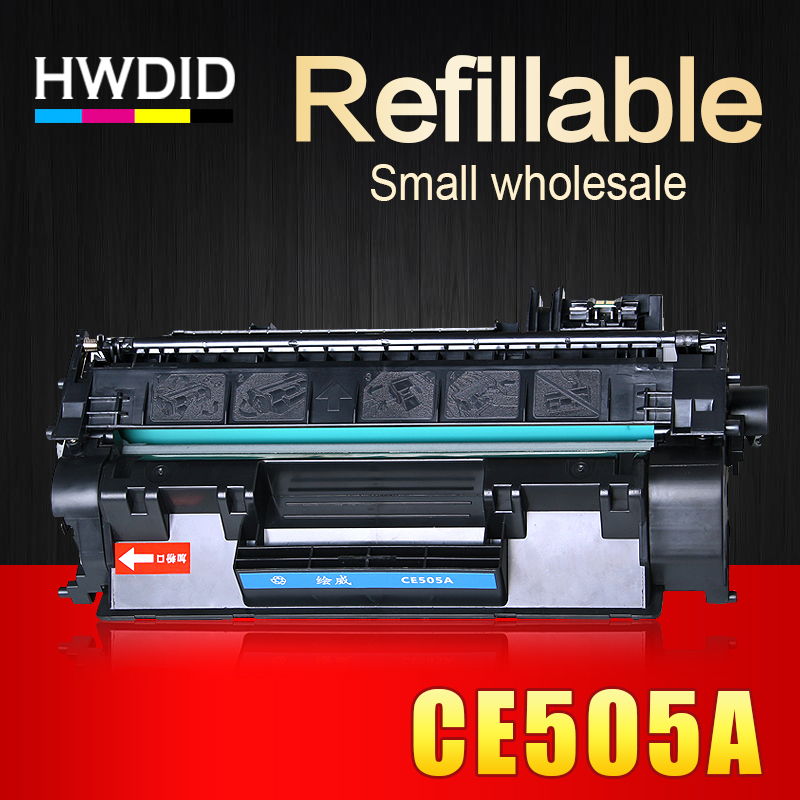 HWDID CE505A 505 05A 505a Compatible Toner Cartridge for HP LJ P2035 2055 for Canon LBP6300 6650 6670 6680 MF5840 5850 5870 5880 стоимость