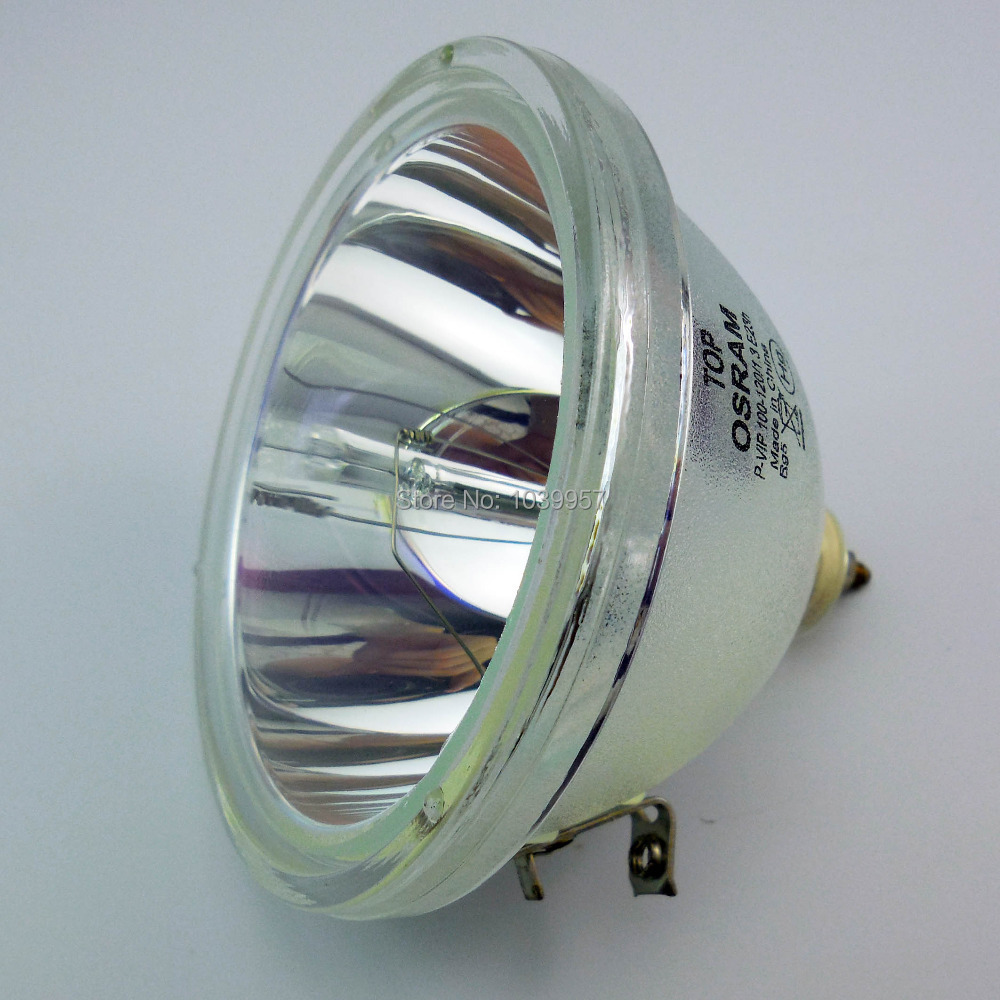 Original Projector Lamp Bulb P-VIP 100-120/1.3 E23h for Mitsubishi WD-52825 / WD-52825G / WE-52825 original tv lamp for samsung bp96 00224j bare lamp p vip 100 120 1 3 e23h compatible projector lamp bulb