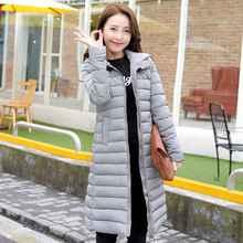 #2608 Womens winter jackets and coats Fashion Slim Long winter coat women Casacos de inverno feminino Parkas jaqueta inverno