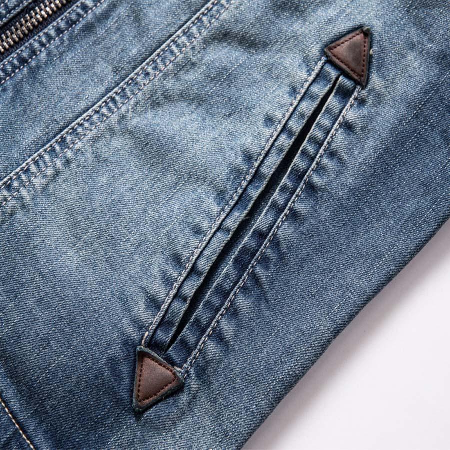 Новинка Ретро классика джинсовая куртка Мужская винтажная одежда повседневные тонкие куртки мужские пальто джинсовые куртки размера плюс M-3XL