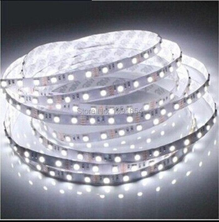 Free Shipping 25M/lot 12/24V Non Waterproof LED Strip 300LEDS/5M/REEL 3528 SMD Flexible strip Light ,LED tape ,LED ribbon