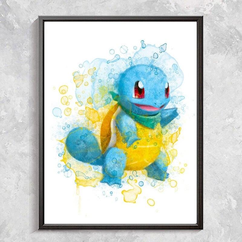 Pokemon Poster Canvas Art Prints Home Decor