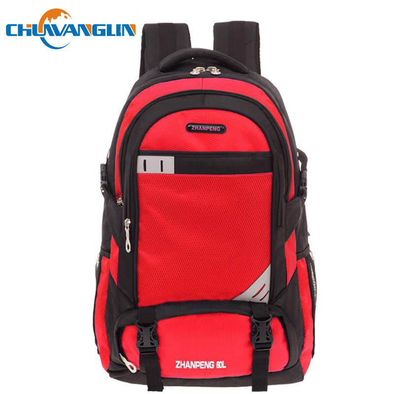Chuwanglin 60L Travel Backpack Outdoor Backpack Men Large Capacity Laptop Backpack Casual Male Bookbag Mochila L9601