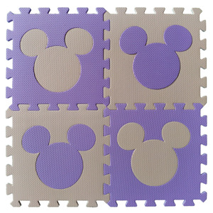 Image 5 - Meitoku bébé EVA mousse puzzle tapis de jeu/cheval de troie imbriqué exercice tapis de sol carreaux, tapis pour enfants, Each32cmX32cm