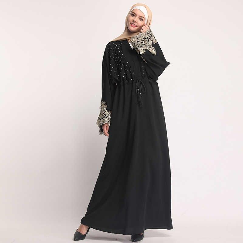9f4550841b ... 2019 Bangladesh Kaftan Abaya Turkey Qatar Oman Hijab Muslim Dress Abayas  For Women Robe Dubai Caftan ...