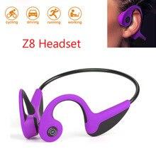 Original Z8 Headphones Bluetooth 5.0 Bone Conduction Headsets Wireless Sports earphones Handsfree Neckband Microphone Drop Shipp tronsmart encore s2 bluetooth 4 1 neckband sports headphones