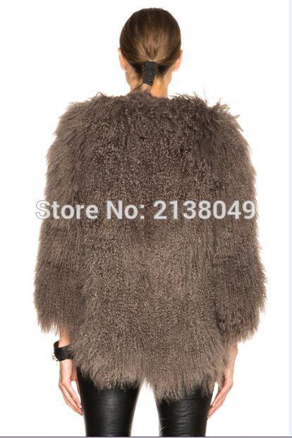 Fourrure Hiver Camel De Sf0217 Spéciale grey Agneau Femmes Manteaux Mongolie Offre beige zIqHwHxf