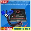Envío gratis 2017 Original de la caja + Milagro Milagro clave con cables (actualización herramienta de diagnóstico V2.33 caliente) para teléfonos móviles de china desbloquear Desbloquear + Reparación