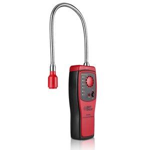 Image 2 - Analyseur de gaz détecteur de gaz Combustible port de fuite de gaz naturel inflammable emplacement déterminer compteur testeur alarme de lumière sonore AS8800L