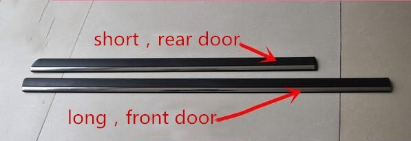 eOsuns car accessories Car body door plate strips protection for Volkswagen Passat B5 2003 2010