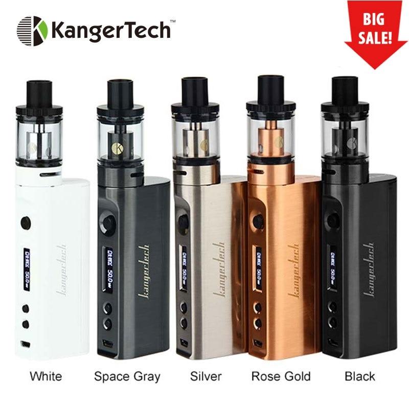 100% Kangertech Subox mini-c Vape Kit Subox Mini C 50 W caja Mod con 3 ml Protank 5 NO 18650 batería cigarrillo electrónico Vape Kit