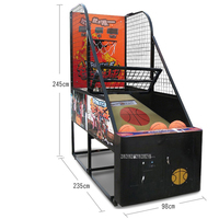 Teenagers Students Adults Indoor Coin Operated Street Electric Basketball Arcade Large Game Machine Shopping Malls Game Console