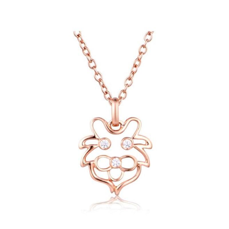 Mode 12 Constellations pendentif 18 K or zodiaque collier pendentif signe du zodiaque homme femme 18 K or bijoux cadeau Leo pendentif