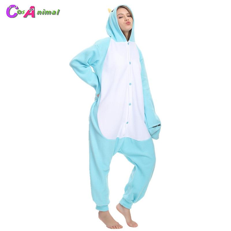 Animal Onesie0 Adult Narwhal Kigurumi Pajamas Cosplay Costume for Women Men