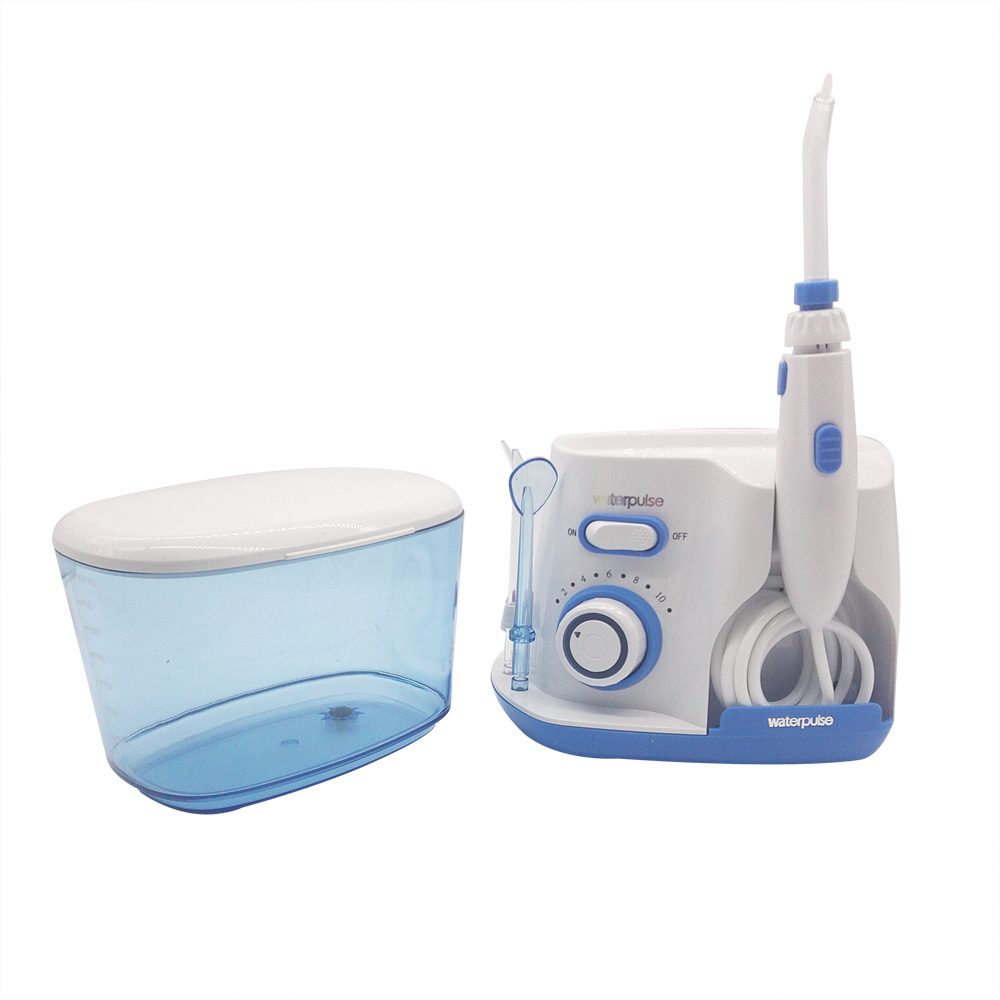 Professional Oral Irrigator Water Flosser Irrigation Dental Floss 800ml water reservoir with 5 Water Jet Tips in Dental Flosser from Beauty Health