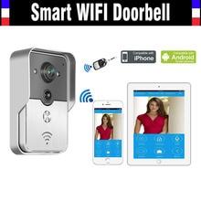 Smart Wifi Wireless Doorbell Intercom Video Door Phone WIFI Camera Viewer remote unlock intercom for IOS Android phone Tablet