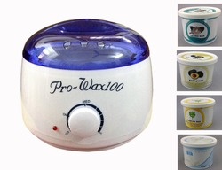 Wax heater hair removal machine 110 220 240v 100w epilator and paraffin wax can moisturize hands.jpg 250x250