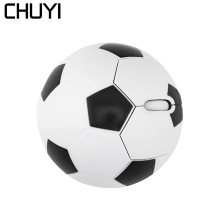 CHUYI 2.4G Wireless Basketball Football Mouse 3D Ergonomic Optical Fashion Soccer Mice Computer Mause For PC Laptop Desktop Game