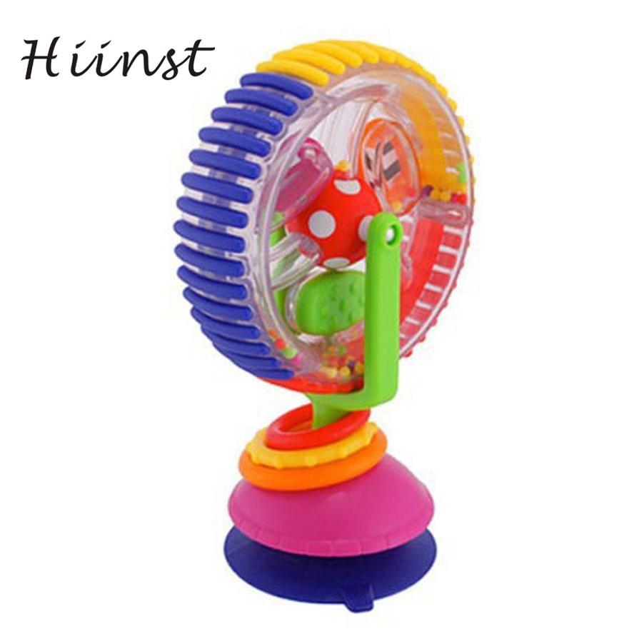 Baby Spielzeug Baby warenkorb stuhl sucker um die Ferriswheel rotierende Windmühle glocke Neue Bildungs Developmental Baby Spielzeug 17Aug28