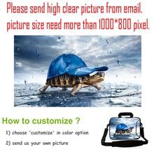 "Customizable 17″ 15″ 15.6″ 13.three"" 13″ 12″ 11.6″ 10″ 9.7″ 7″ 7.9″ Neoprene Laptop computer Shoulder Bag Pill Netbook Cowl Instances Pouch"