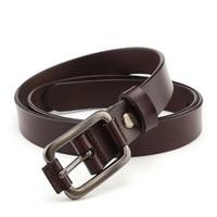Jeans Belts For Women Designer Brand High Quality Cowhide Large Genuine Leather Belt Women Pin Buckle Strap cinturon hombre