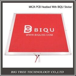300*300*2 MM PCB MK2A z nagrzewnicy kabel i odporność na MK2A czarny podgrzewacz łóżko + 300 * 300mm czerwony kij 3D0334 + 3D0298 w Części i akcesoria do drukarek 3D od Komputer i biuro na