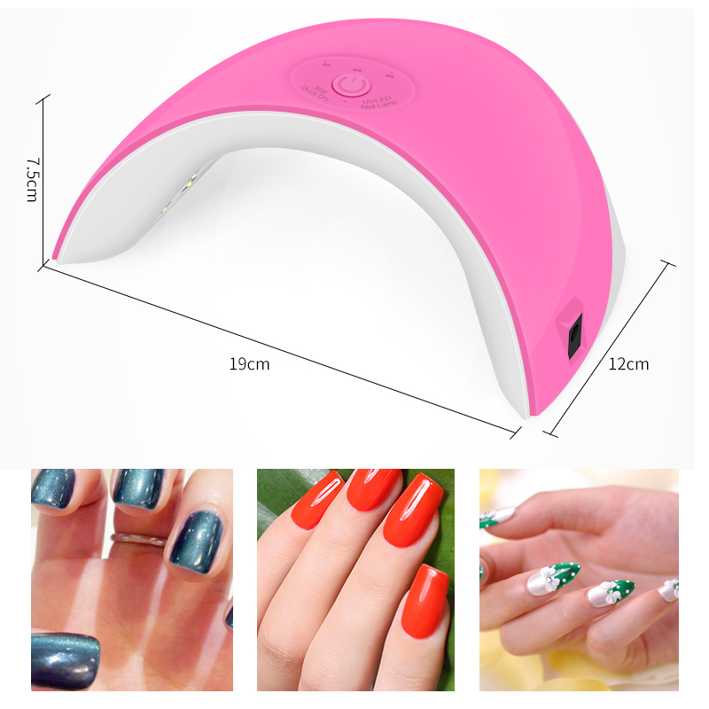 Brand New 36W Nail Dryer UV Led Lamp Nail Gel Polish Curing Lamp for ...