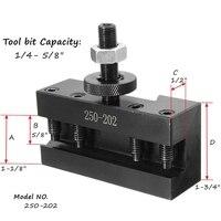 שינוי מהיר 250-202 מהיר שינוי BXA # 2XL כלי פוסט Oversize 3/4 אינץ מפנה Boring מחזיק משעמם / מול / מחזיק מפנה עבור כלי מחרטות (4)
