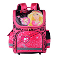 High Quality 2016 Children School Bags for Boys Orthopedic Backpack Girls Butterfly Princess Schoolbag Mochila Escolar Grade 1-5