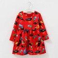 2016 autumn Winter Kids Girls dress long sleeve princess Baby girl clothes roupas infantis menina vestidos infantil party dress