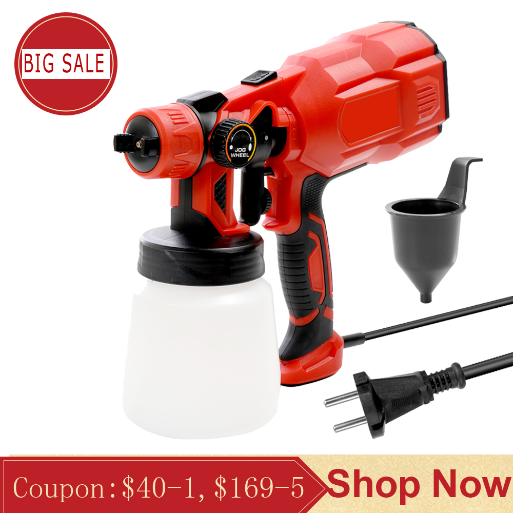 Multifunctional Split Type Electric Paint Sprayer Machine Sandblaster with Spray Width Adjustment Household and Industry Tools