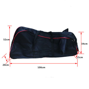 Image 3 - Large Foldable Scooter Carry Bag for Xiaomi M365 Foldable Electric Scooter Transport Roller Bag with Wheels Scooter Bag
