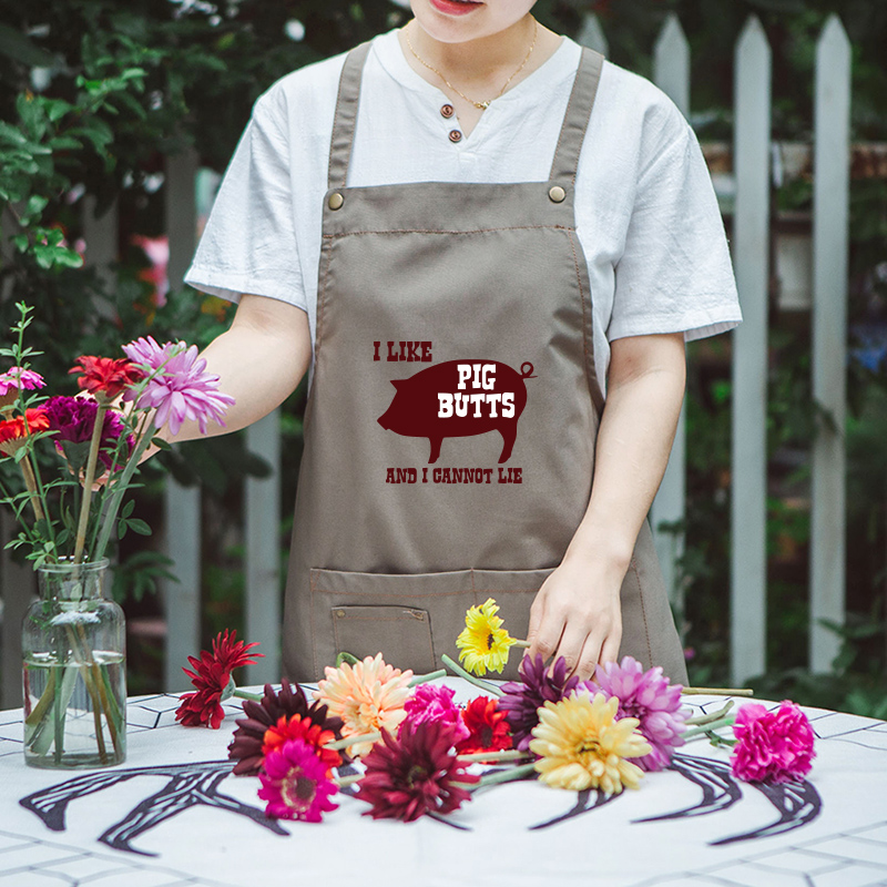 Nail kitchen aprons tea shop Korean men and women fashion sleeveless overalls in Aprons from Home Garden