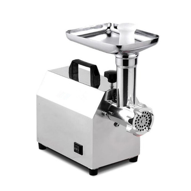Automatic electric meat grinder for kitchen multifunction food processor household spice fish meat chopper 3