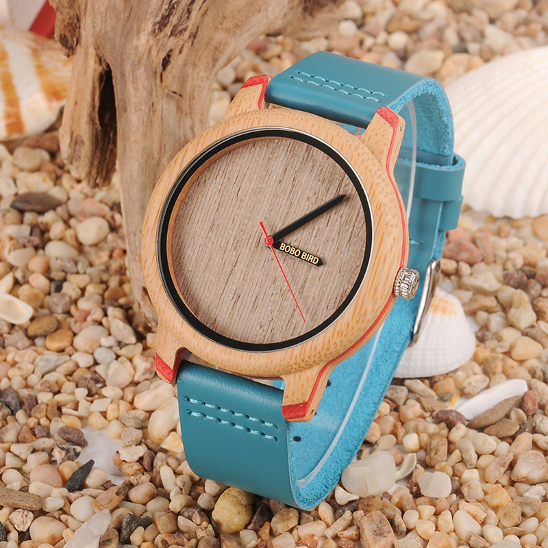 BOBO BIRD Wood Watch Men Bamboo Relogio Masculino Metal Ladies Wristwatch with Leather Band Silicone Strap Customized LogoBOBO BIRD Wood Watch Men Bamboo Relogio Masculino Metal Ladies Wristwatch with Leather Band Silicone Strap Customized Logo