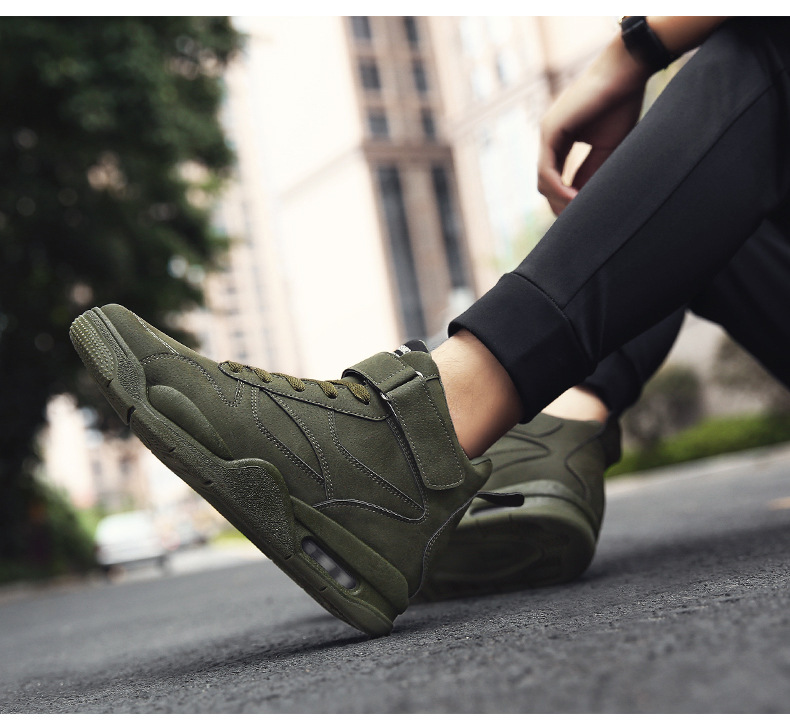 Men Shoes 2018 New Mens Running Shoes  High Top Sneakers Sport Male Athletic Outdoor Jogging Shoes Zapatillas Hombre Deportiva (10)