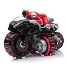 все цены на RC Motorcycle Electric Toys Remote Control Toy Stunt Flip Drift High Speed 360D Rotation Toys For Boys онлайн