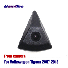 Liandlee AUTO CAM Front View Camera  Logo Embedded For Volkswagen VW Tiguan 2007-2018 2015 ( Not Reverse Rear Parking )