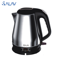 SALAV Electric Kettle Keep Warm Function 4 Temperature Options Stainless Steel 1800W 1.8L Safety Convenient for Tea Coffee Milk