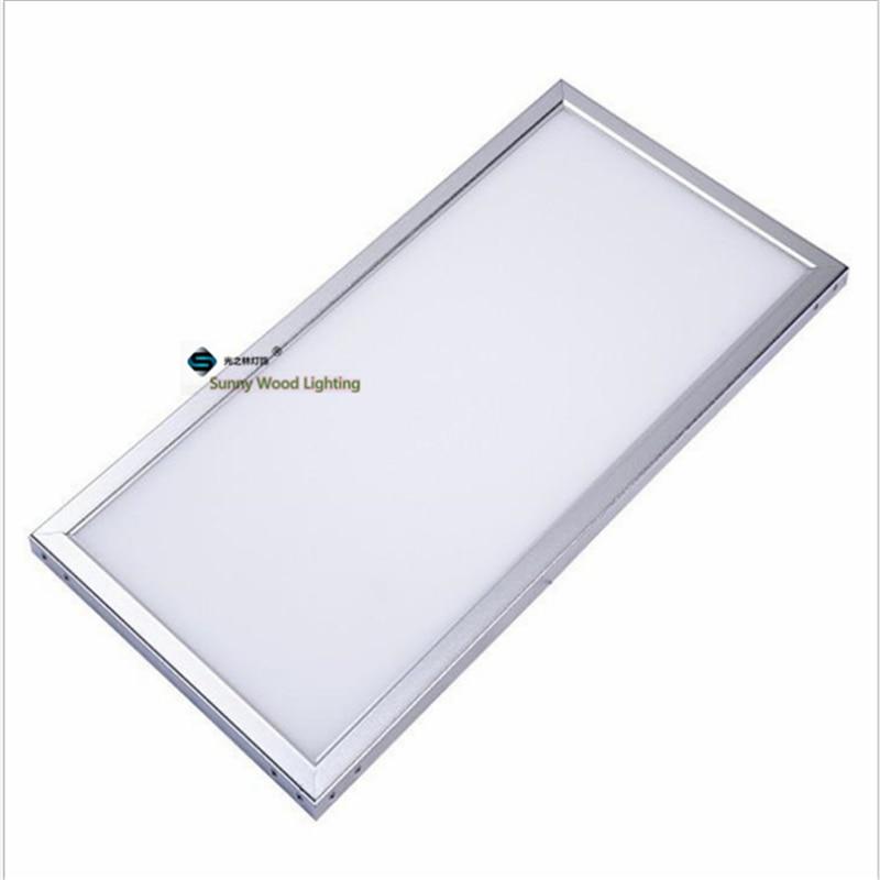 4pcs/lot 30*60cm 12*24 inch led square panel ,18W,24W led integrated ceiling panel light ,bathroom panel light ,flat panel ...