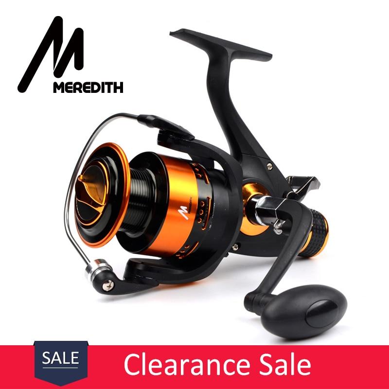 Meredith 4BB 8KG 5.2: 1 Dobbeltslange CNC Aluminiumshåndtak - Fiske